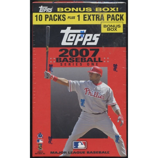 2007 Topps Series One Baseball Blaster Box - Pastime Sports & Games