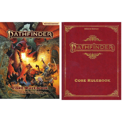 Pathfinder Second Edition Core Rulebook - Pastime Sports & Games
