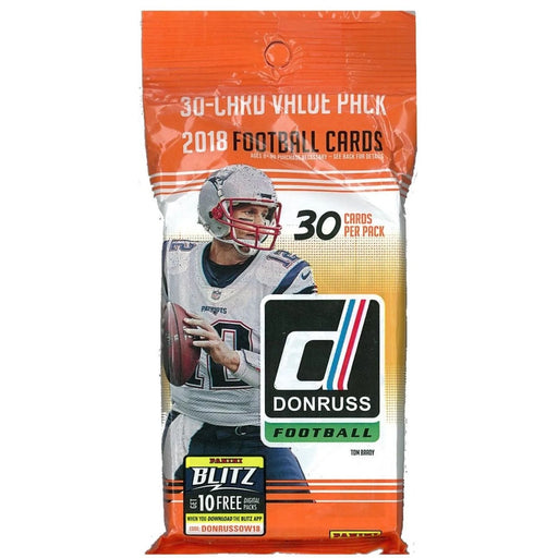 2018 Panini Donruss Football Value Fat Pack - Pastime Sports & Games