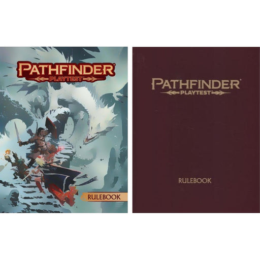 Pathfinder Playtest Rulebook - Pastime Sports & Games