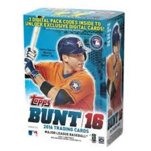 2016 Topps Bunt Baseball Blaster Box - Pastime Sports & Games