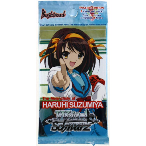 Weiss Schwarz The Melancholy Of Haruhi Suzumiya Booster - Pastime Sports & Games