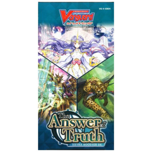 Vanguard The Answer Of Truth Extra Booster 04 - Pastime Sports & Games
