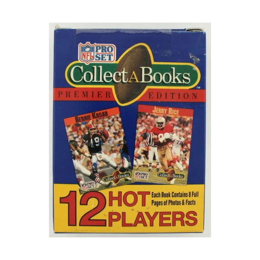 1990 NFL Pro Set Collect A Books Premier Edition Series One - Pastime Sports & Games