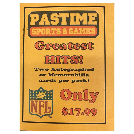 Greatest Hits NFL - Pastime Sports & Games