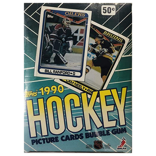 1990/91 Topps Hockey Wax Box - Pastime Sports & Games