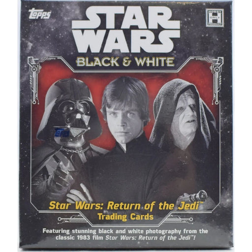 2020 Star Wars Black & White Return of the Jedi Hobby - Pastime Sports & Games