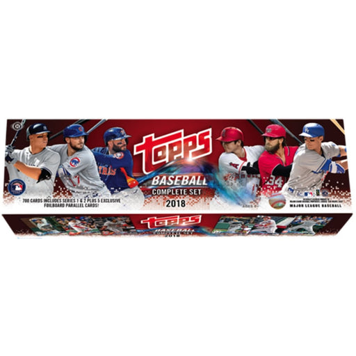 2018 Topps Baseball Complete Set - Pastime Sports & Games