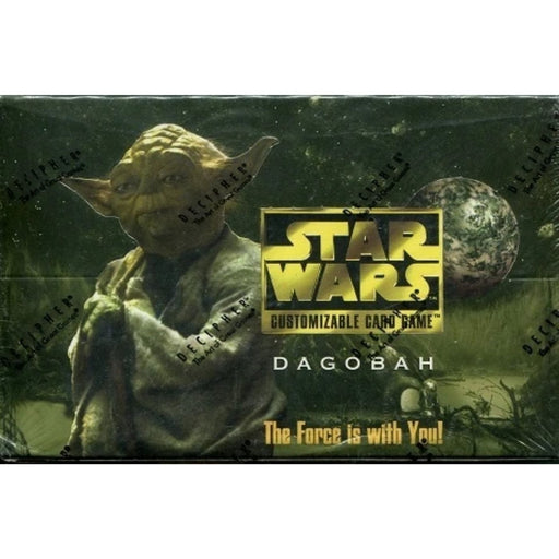 1997 Star Wars Dagobah Booster - Pastime Sports & Games