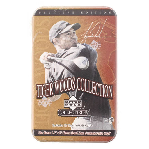 2001 Upper Deck Collectibles Tiger Woods Collection - Pastime Sports & Games