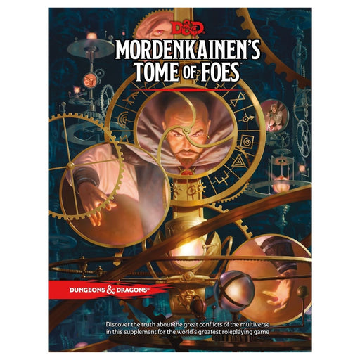Dungeons & Dragons Mordenkainen's Tome of Foes - Pastime Sports & Games