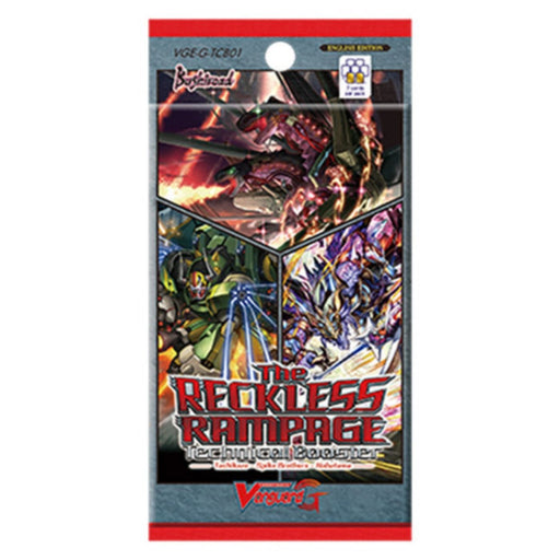 Vanguard The Reckless Rampage Technical Booster - Pastime Sports & Games