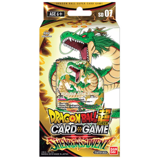 Dragon Ball Super Shenron's Advent Starter Deck - Pastime Sports & Games