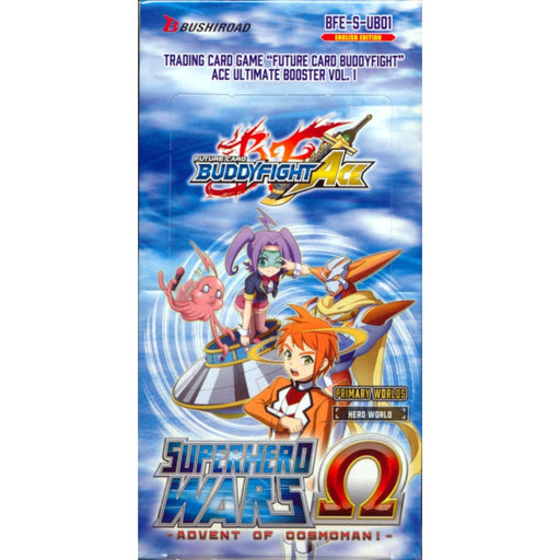 Buddyfight Ace Superhero Wars Advent Of Cosmoman! Booster - Pastime Sports & Games