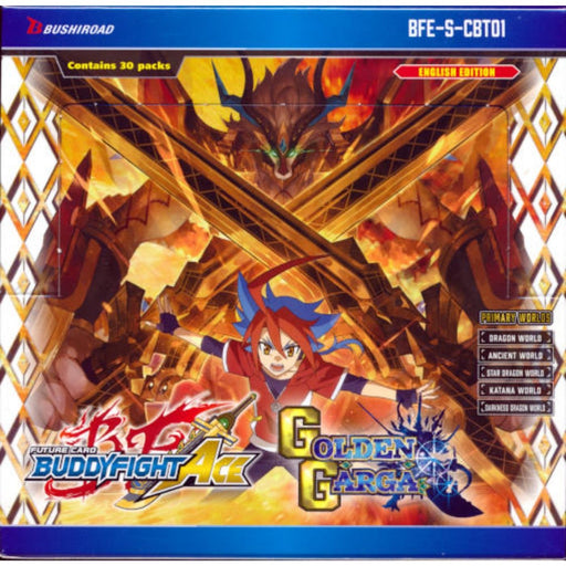 Buddyfight Ace Golden Garga Booster - Pastime Sports & Games