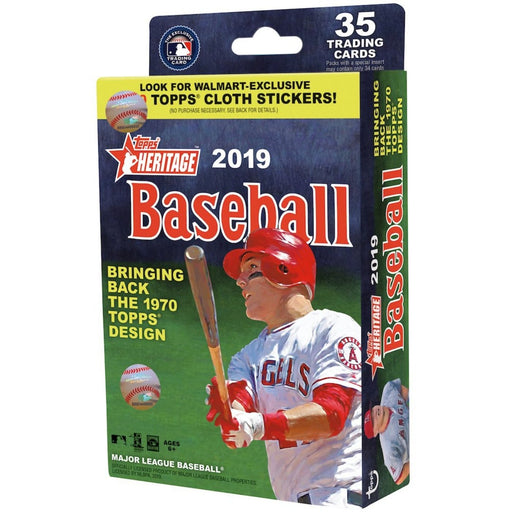 2019 Topps Heritage Baseball Hanger Box - Pastime Sports & Games