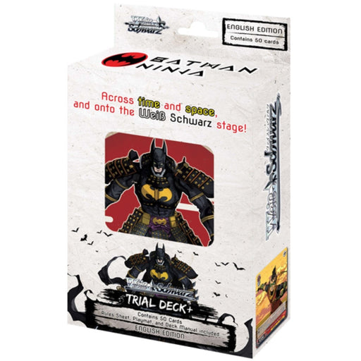 Weiss Schwarz Batman Ninja Trial Deck+ - Pastime Sports & Games