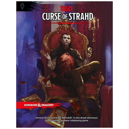 Dungeons & Dragons Curse of Strahd - Pastime Sports & Games