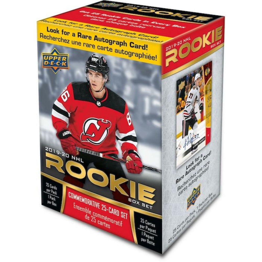 2019/20 Upper Deck Rookie Box Set - Pastime Sports & Games