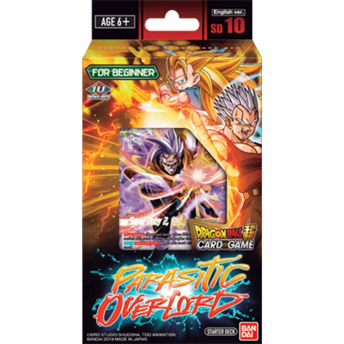 Dragon Ball Super Parasitic Overlord Starter Deck - Pastime Sports & Games