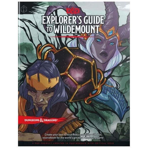 Dungeons & Dragons Explorer's Guide to Wildemount - Pastime Sports & Games