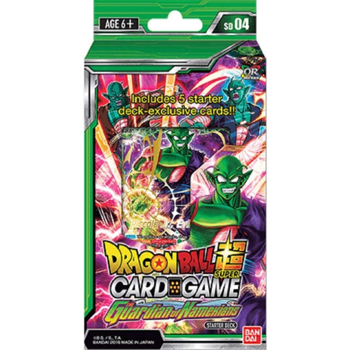 Dragon Ball Super The Guardian Of Namekians Expert Deck - Pastime Sports & Games