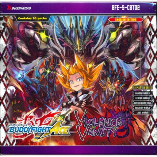 Buddyfight Ace Violence Vanity Booster - Pastime Sports & Games