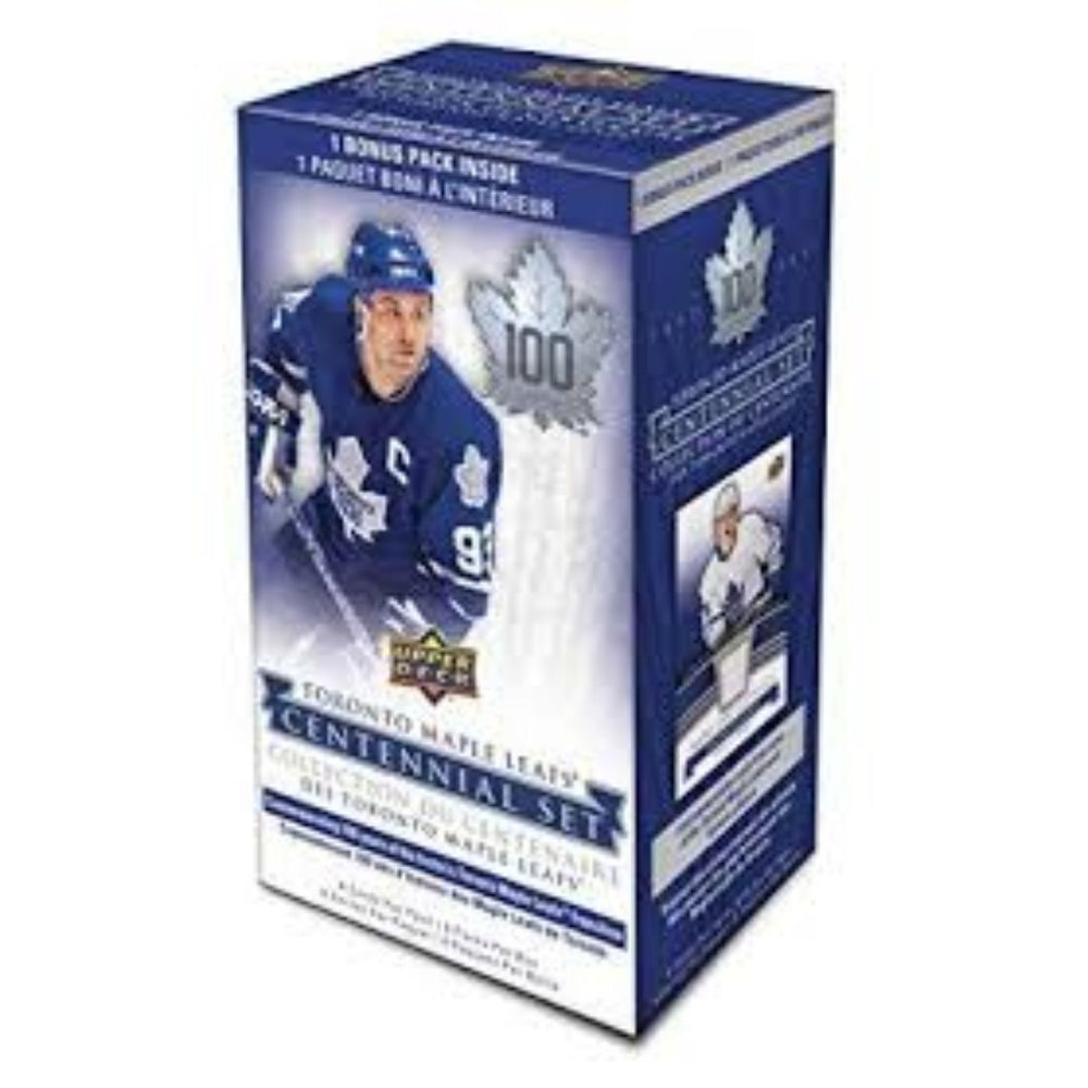 1917/2017 Upper Deck Toronto Maple Leafs Centennial Hockey Blaster Box - Pastime Sports & Games