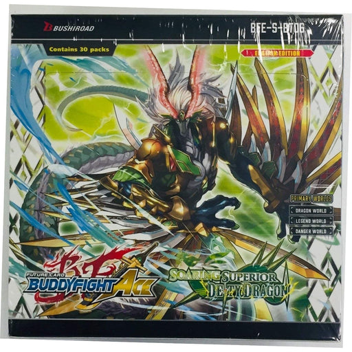Buddyfight Ace Soaring Superior Deity Dragon Booster - Pastime Sports & Games