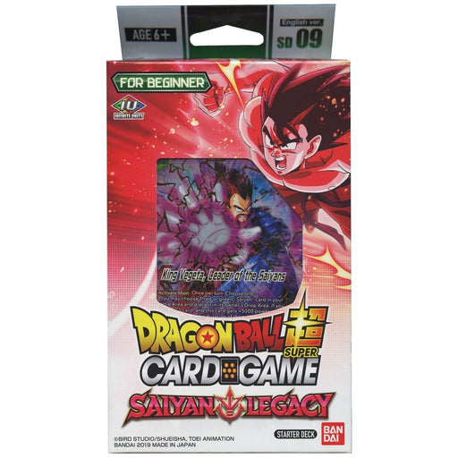 Dragon Ball Saiyan Legacy Starter Deck - Pastime Sports & Games