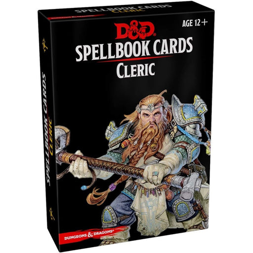 D&D Spellbook Cards Cleric 2nd Edition - Pastime Sports & Games