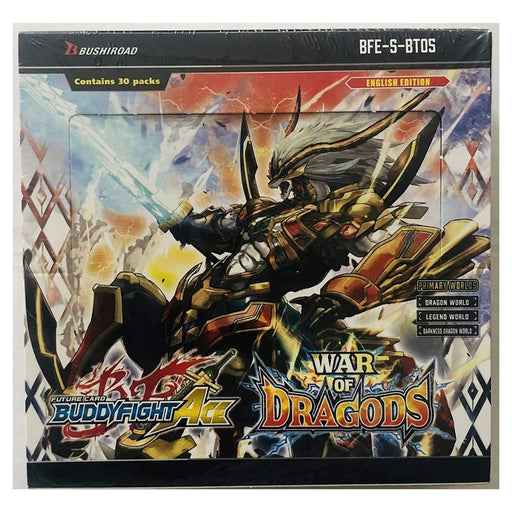 Buddyfight Ace War Of Dragods Booster - Pastime Sports & Games