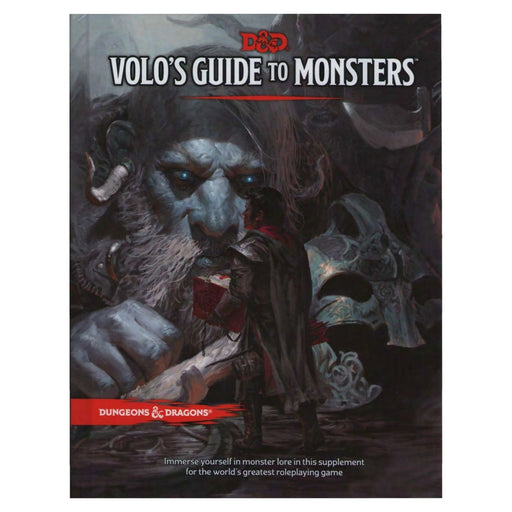 Dungeons & Dragons Volo's Guide to Monsters - Pastime Sports & Games