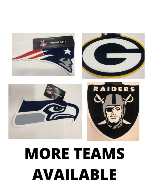 NFL Primary Logo Pennants - Pastime Sports & Games