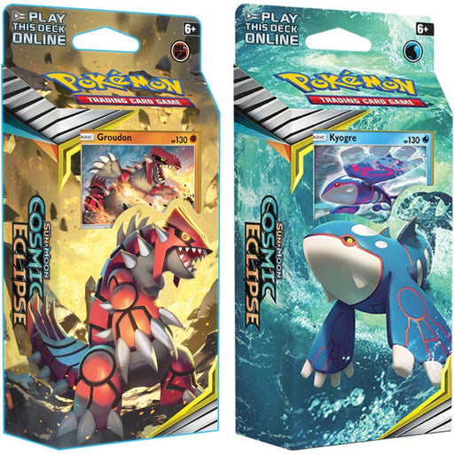 Pokemon Sun & Moon Cosmic Eclipse Theme Deck - Pastime Sports & Games