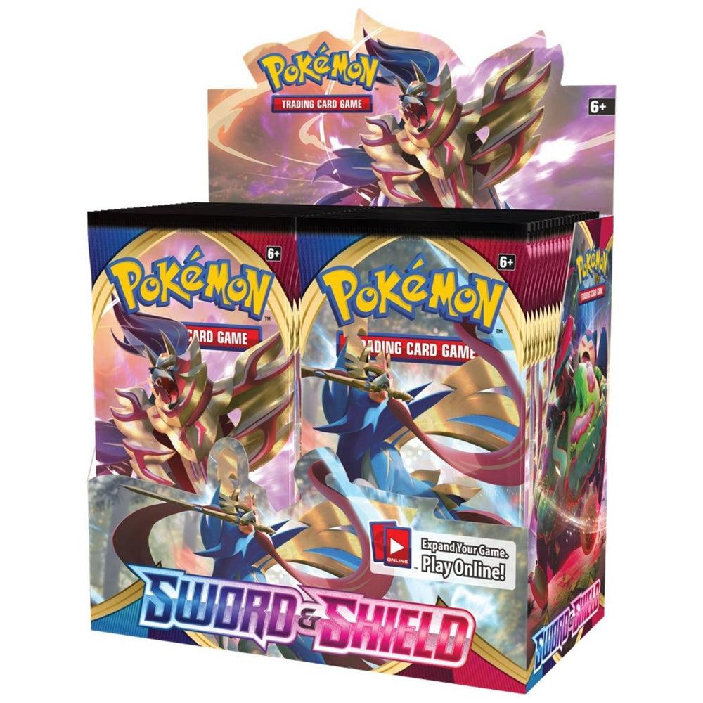 Pokemon Sword & Shield Booster - Pastime Sports & Games