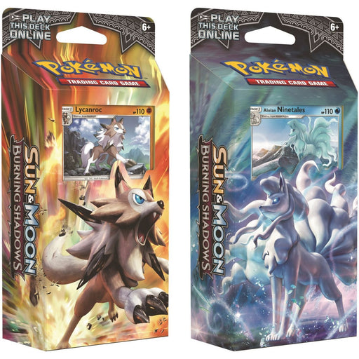 Pokemon Sun & Moon Burning Shadows Theme Deck - Pastime Sports & Games