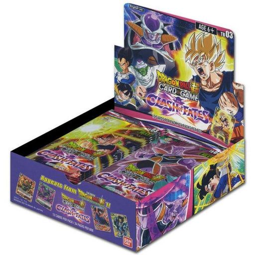 Dragon Ball Super Clash Of Fates Booster - Pastime Sports & Games