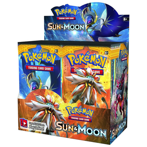 Pokemon Sun & Moon Booster - Pastime Sports & Games