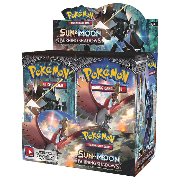 Pokemon Sun & Moon Burning Shadows Booster - Pastime Sports & Games