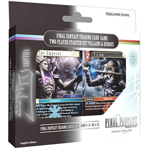 Final Fantasy Two Player Set Villains & Heroes - Pastime Sports & Games