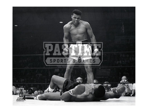 Muhammad Ali 8X10 Boxing (Knocking Out Sonny Liston) - Pastime Sports & Games