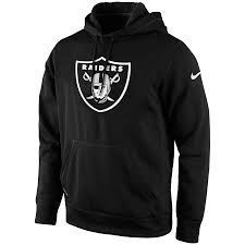 Oakland Raiders Hoodie Football (Black Nike) - Pastime Sports & Games