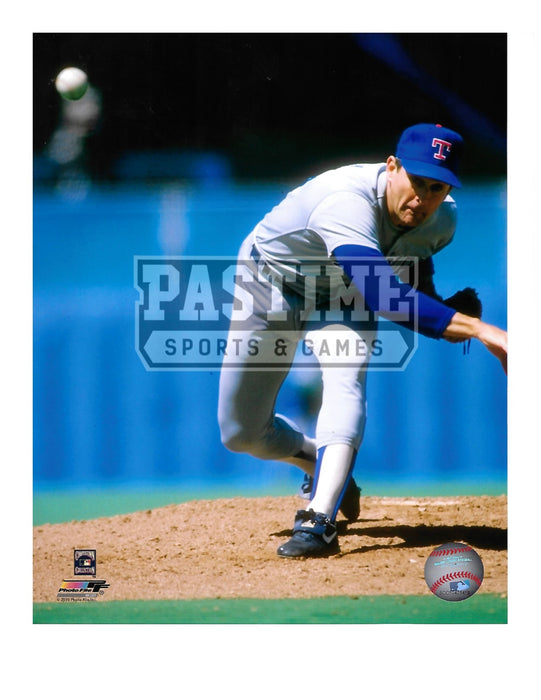 Nolan Ryan 8X10 Texas Rangers (Pitching Pose 2) - Pastime Sports & Games