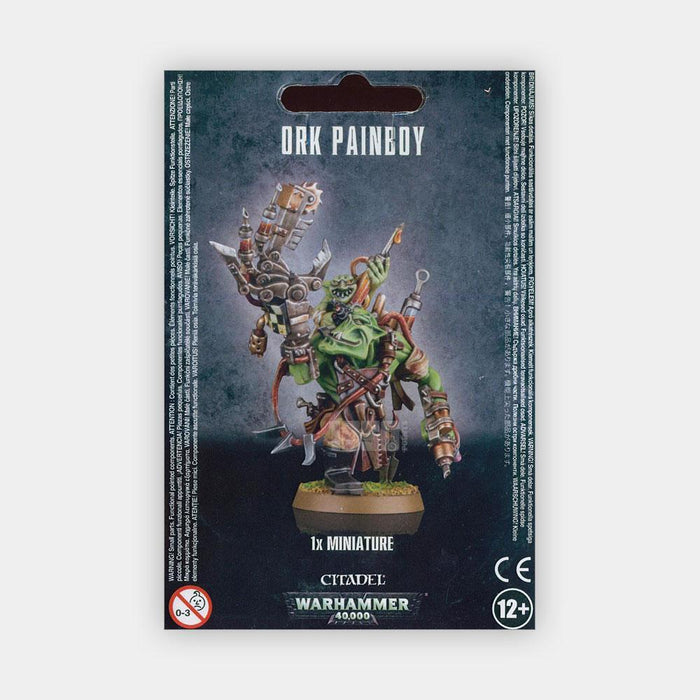 Warhammer 40,000 Orks Painboy (50-25) - Pastime Sports & Games