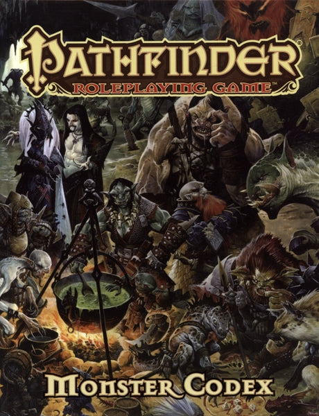Pathfinder Roleplaying Game Monster Codex - Pastime Sports & Games