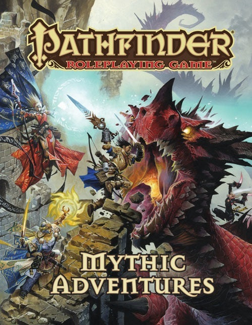 Pathfinder Roleplaying Game Mythic Adventures - Pastime Sports & Games