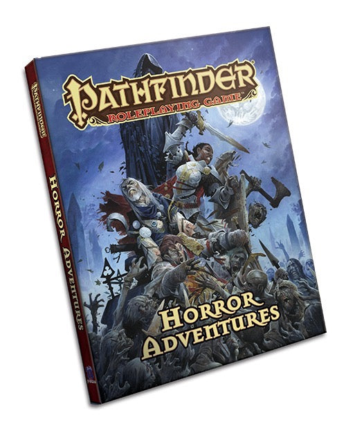 Pathfinder Roleplaying Game Horror Adventures - Pastime Sports & Games