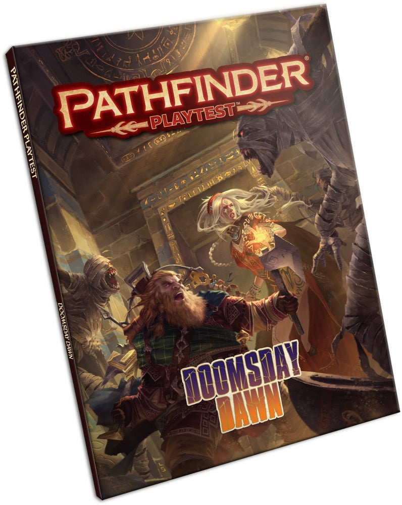 Pathfinder Playtest Doomsday Dawn - Pastime Sports & Games