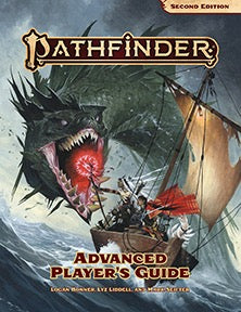 Pathfinder Second Edition Advanced Player's Guide - Pastime Sports & Games